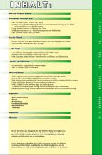 ÖKOJAGD Inhaltsverzeichnis Ausgabe 1 - 2017