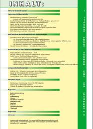 OEKOJAGD Inhaltsverzeichnis Ausgabe 3 - 2017