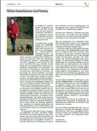 OEKOJAGD Editorial Ausgabe 3 - 2017