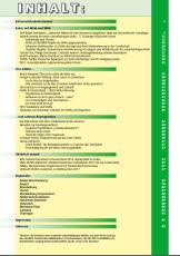 Inhaltsverzeichnis Ausgabe 4 - 2017