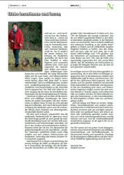 Editorial ÖKOJAGD 2 - 2018