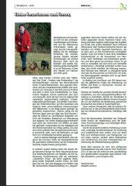 Editorial Ausgabe 4 - 2018