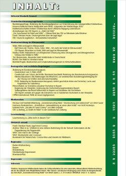 Inhaltsverzeichnis Ausgabe 2 - 2020