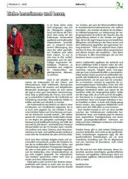 Editorial Ausgabe 2 - 2020