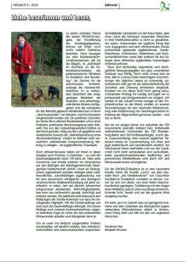 Editorial Ausgabe 4 - 2020