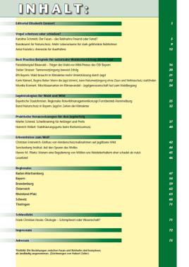 ÖKOJAGD Inhaltsangabe Ausgabe 3 - 2021