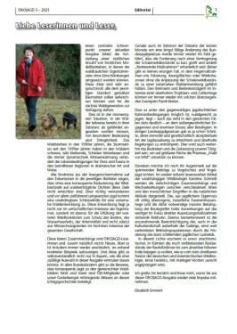 ÖKOJAGD Editorial E. Emmert